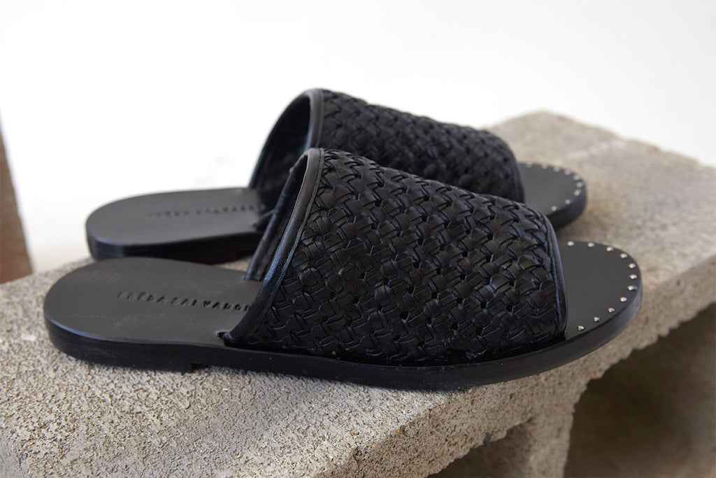 Pure Slip On Sandal || Freda Salvador