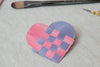Valentine Heart Envelopes - A Simple Craft in Watercolor and Weaving
