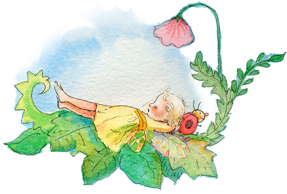 A Sunshine Fairy Illustration
