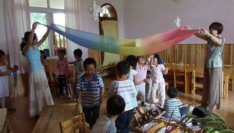 Waldorf School Children in China