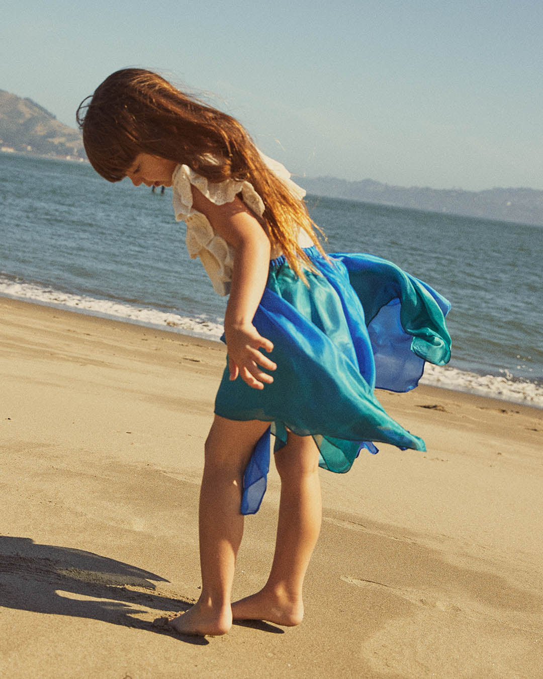 Fairy Skirt in Ocean