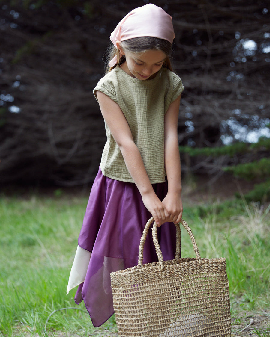 Summer Fairy Skirt in Sea Urchin Purple