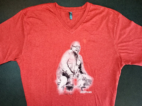Tennessee Williams on a Bike T-Shirt