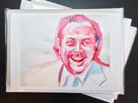 Provincetown Tennessee Williams Notecards by David Chick