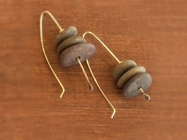 Beach Stone Earrings