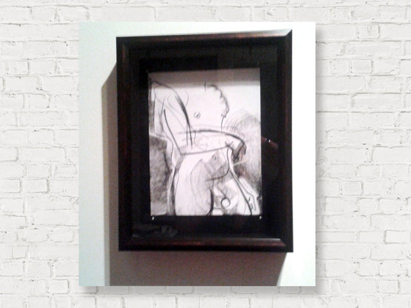 Framed in Shadow Box, works by Laura Shabott