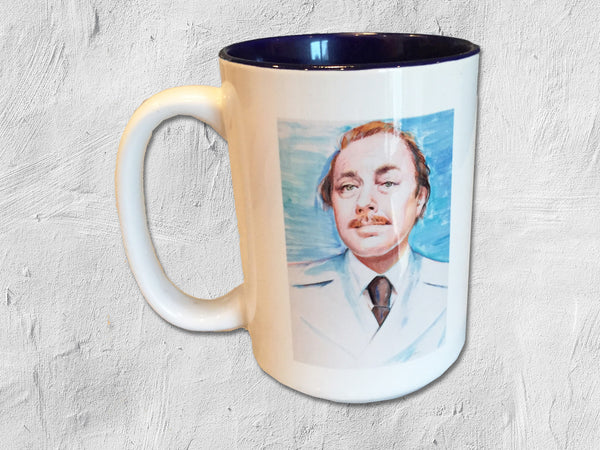 Tennessee Williams Illustration Coffee Mug