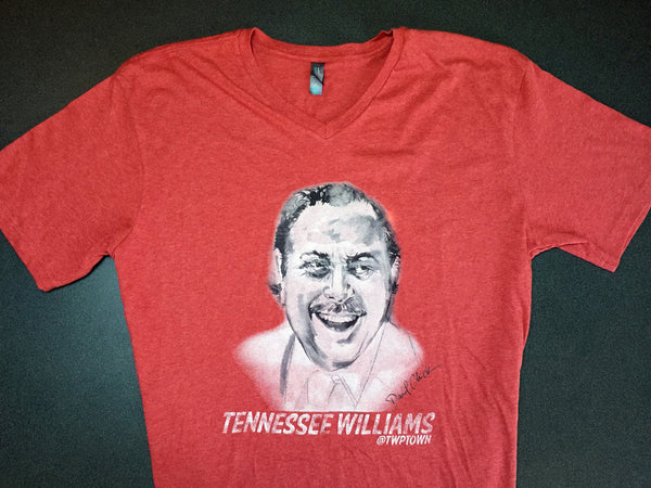 Tennessee Williams Shirt (Unisex Red)