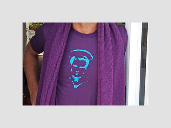 Albert the Sailor Purple T-Shirt