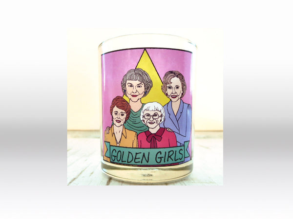 Golden Girls Flaming Idol Votive Candle