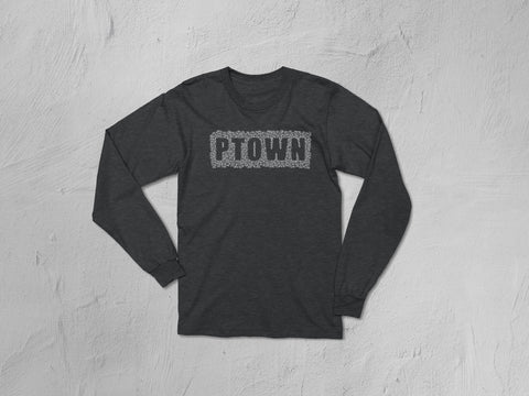 Ptown Bike Cut-Out T-Shirt, V-Neck, Thermal Long-Sleeved Shirt