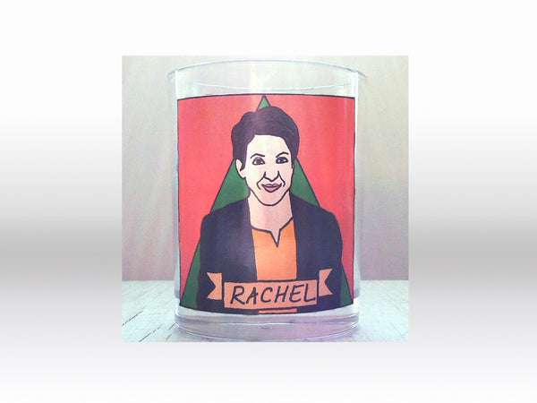 Rachel Maddow Flaming Idol Votive Candle