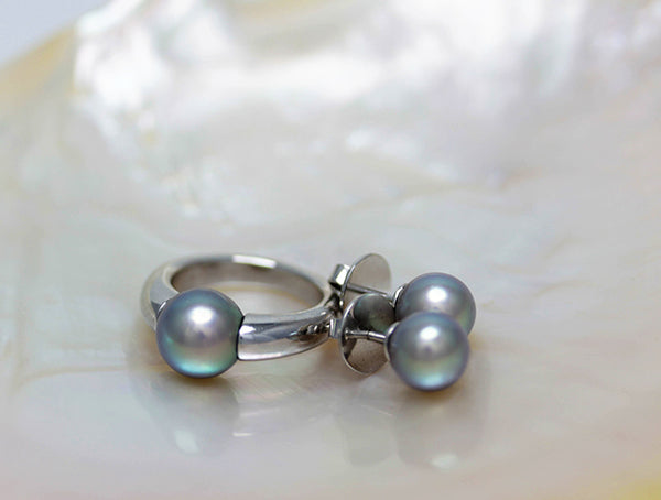 Cortez Pearls with Beautiful Overtones