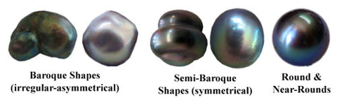 Different Pearl Shapes