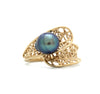 14K Gold Ring with Sea of Cortez Pearl