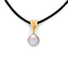 Classic 18K Gold Pendant with Cortez Pearl by Kathe Mai