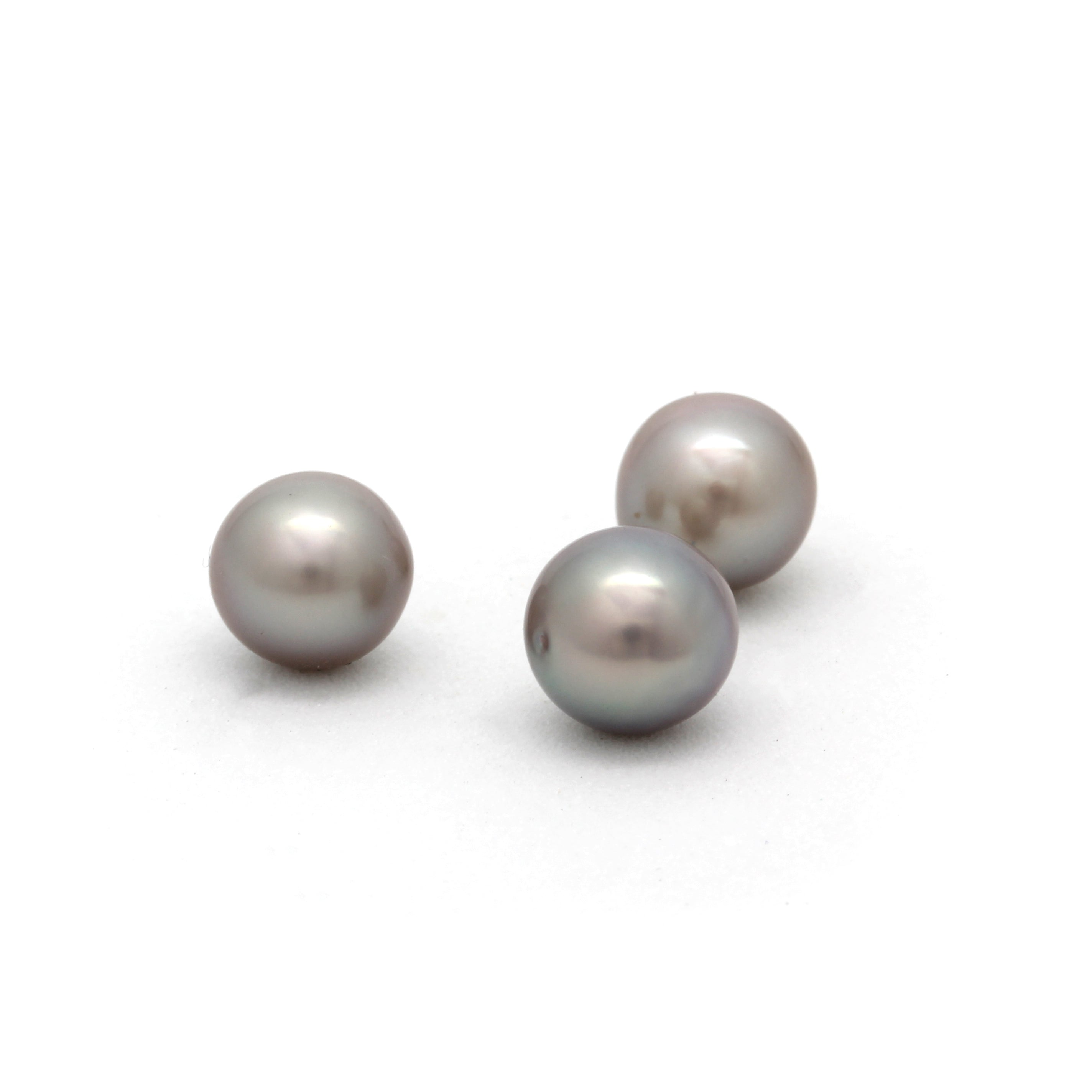 Lot of 3 Baroque Cortez Pearls from 2019 HARVEST