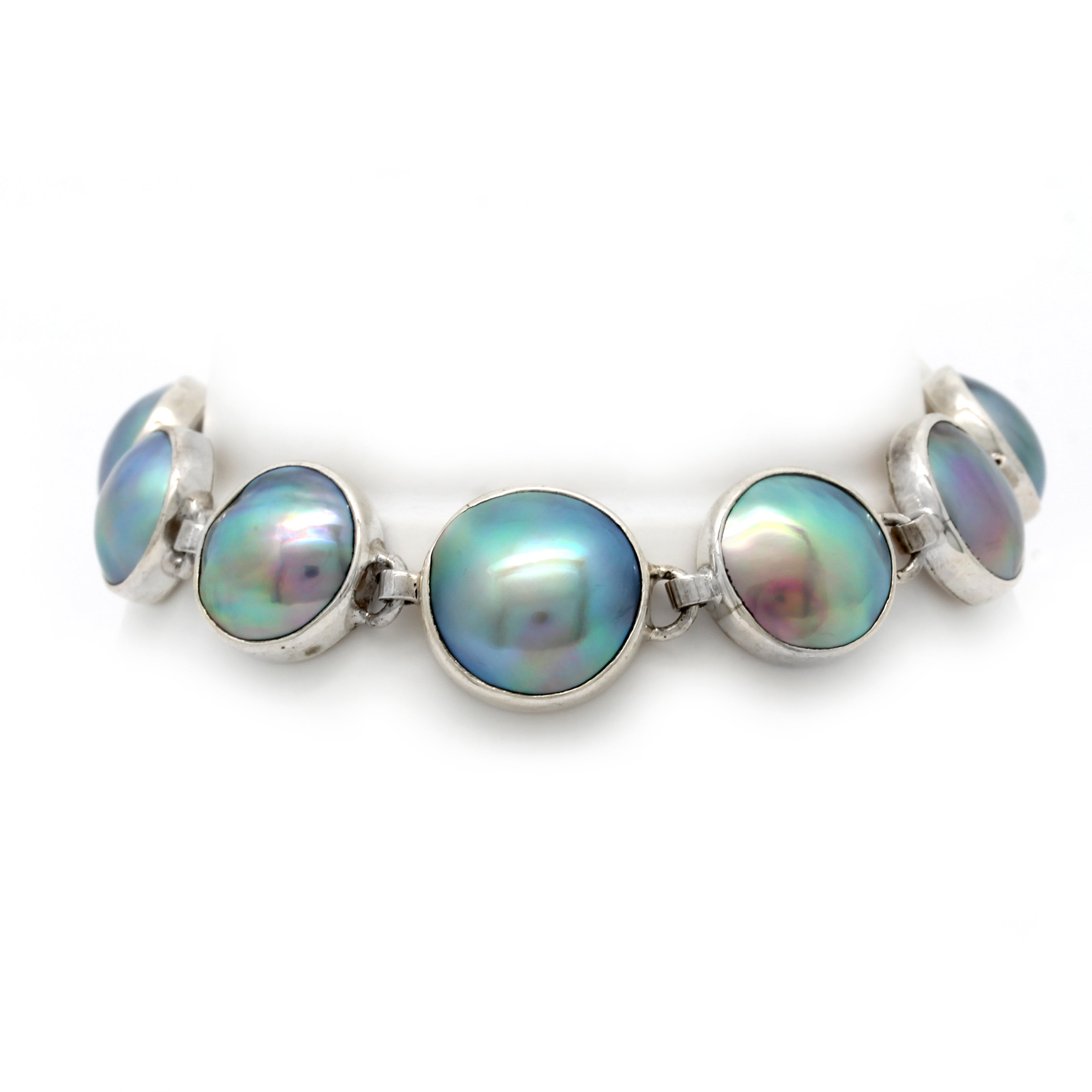 Sea of Cortez Mabe Pearl Bracelet