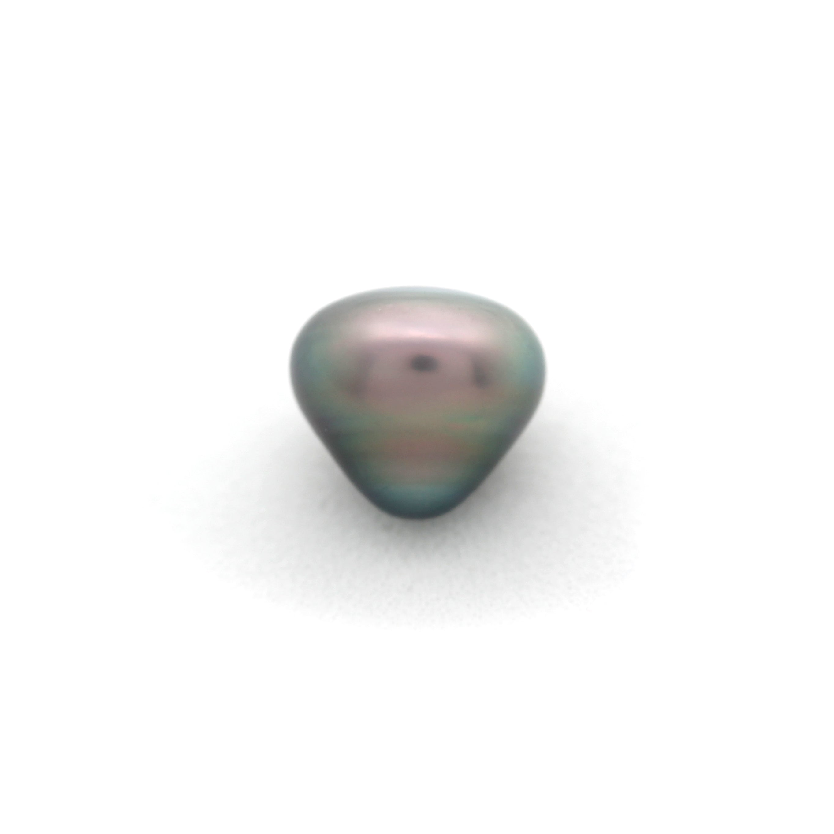 Baroque KISS shaped 9.75 x 10.7 mm Cortez Pearl