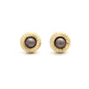 14K Gold Cortez Keshi Pearl Small Earrings