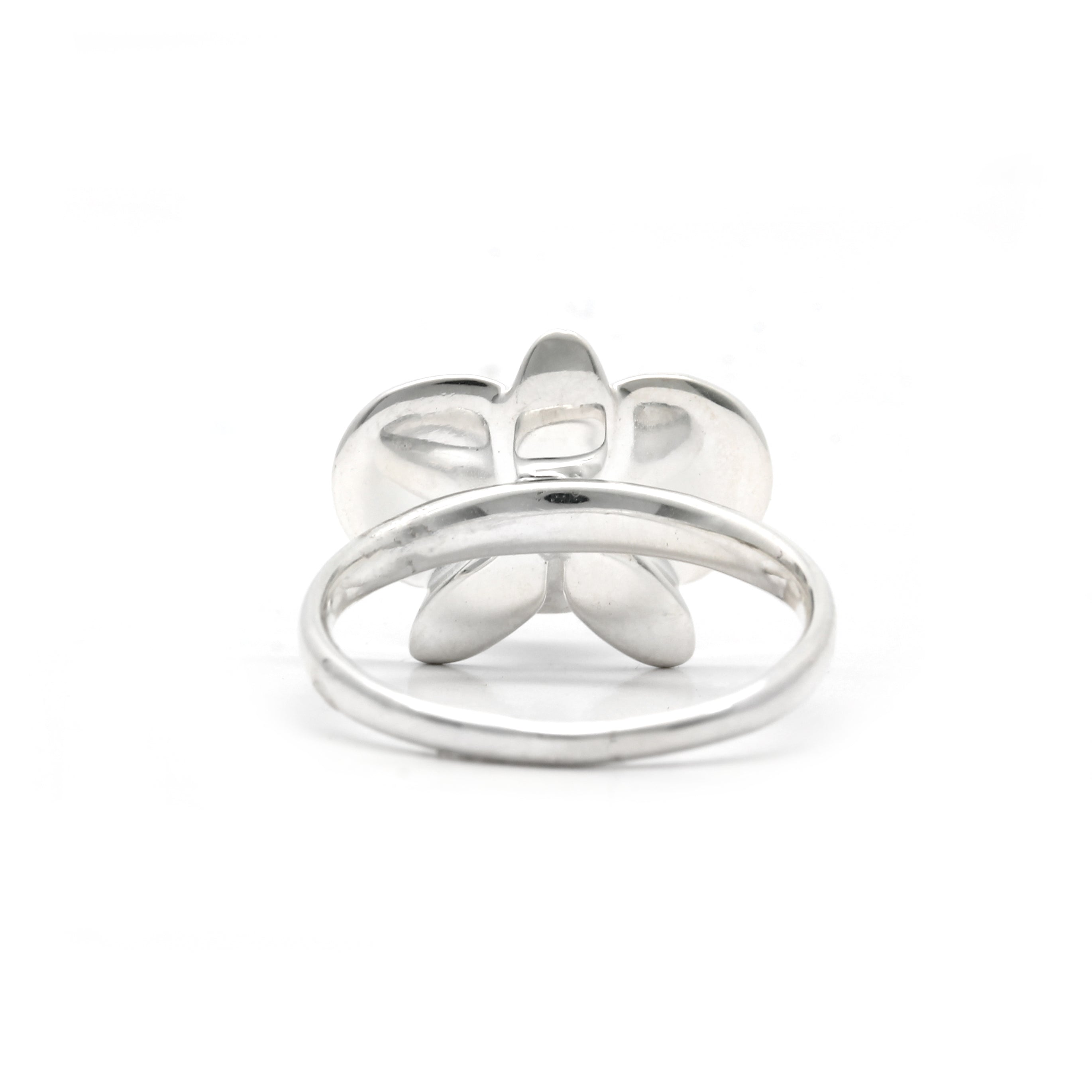 ORCHID: Silver Ring with Keshi Cortez Pearls