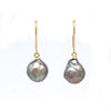 18K Hanging Earrings with Cortez Pearls