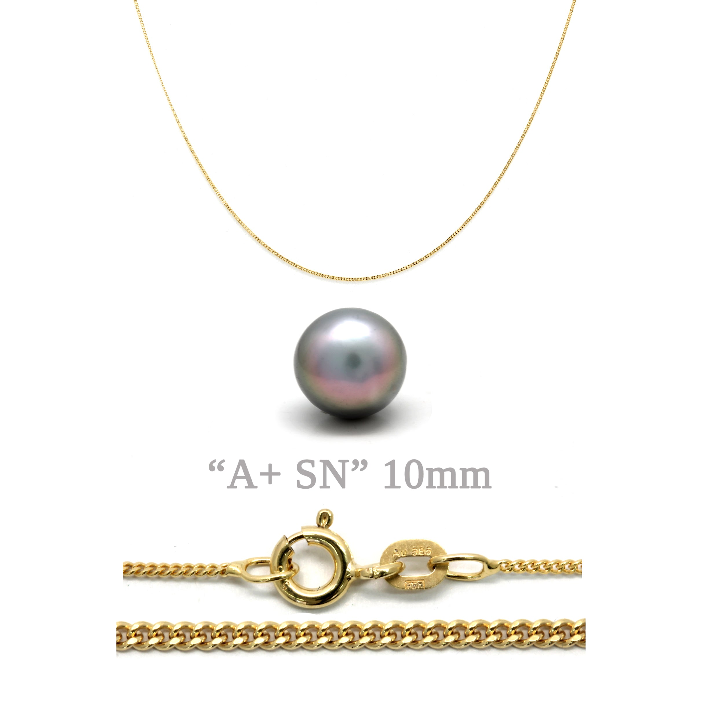 Make-Your-Own Gold Chain with Cortez Pearl
