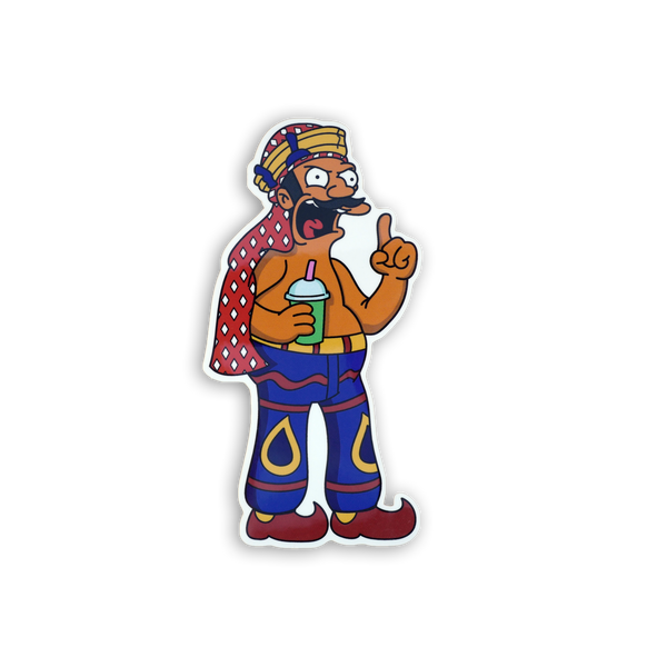 AN Sticker x Springfield Mania
