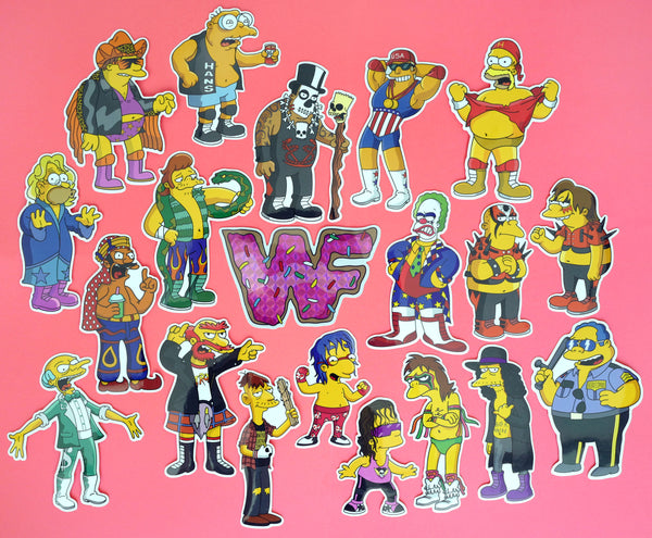 Springfield Mania Sticker Pack