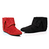 "0"" Microfiber Boot.(Blk-Left Red-Right)"