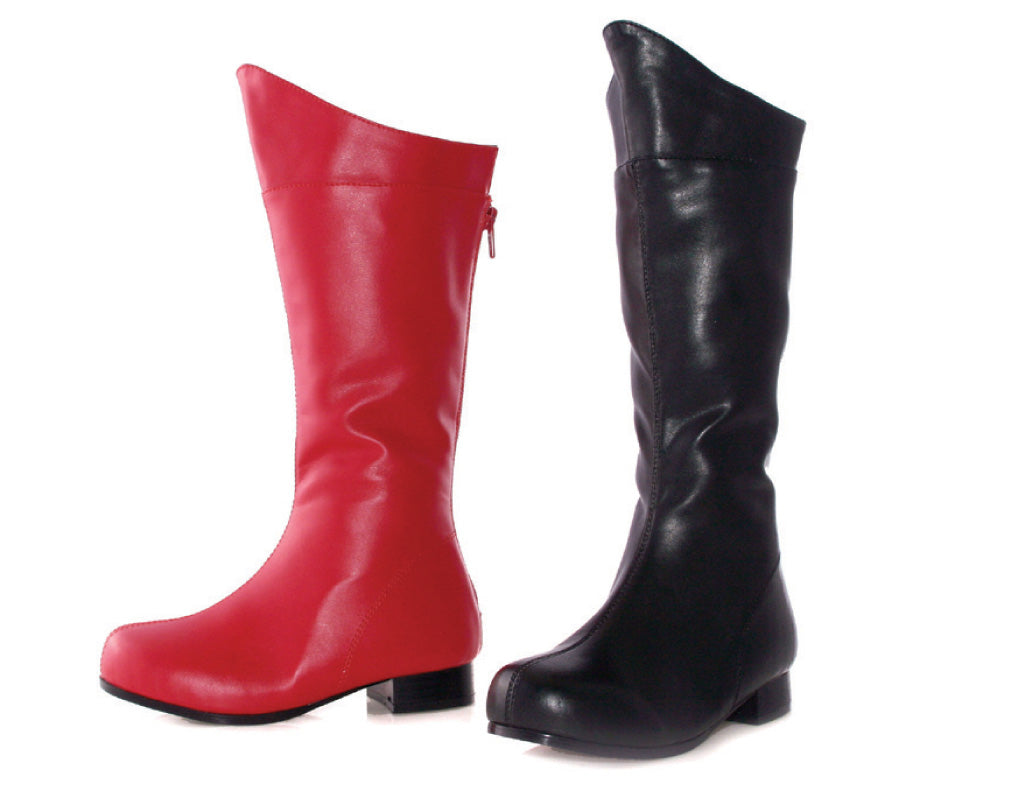 "1"" Heel Superhero Ankle Boot Childrens."