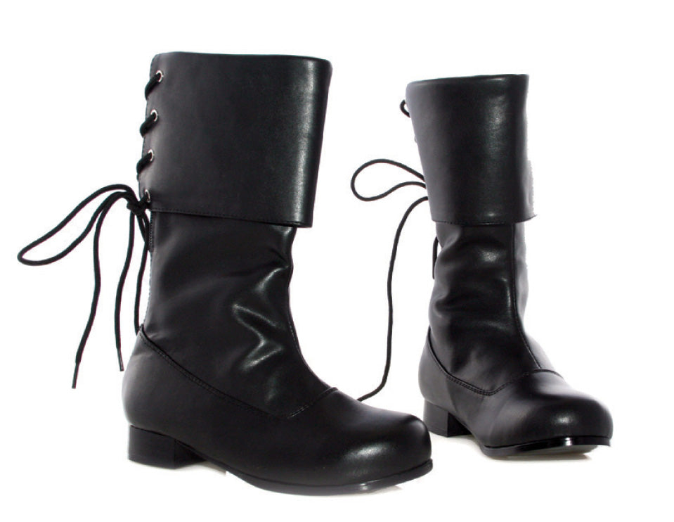 "1"" Heel Pirate Ankle Boot Childrens."
