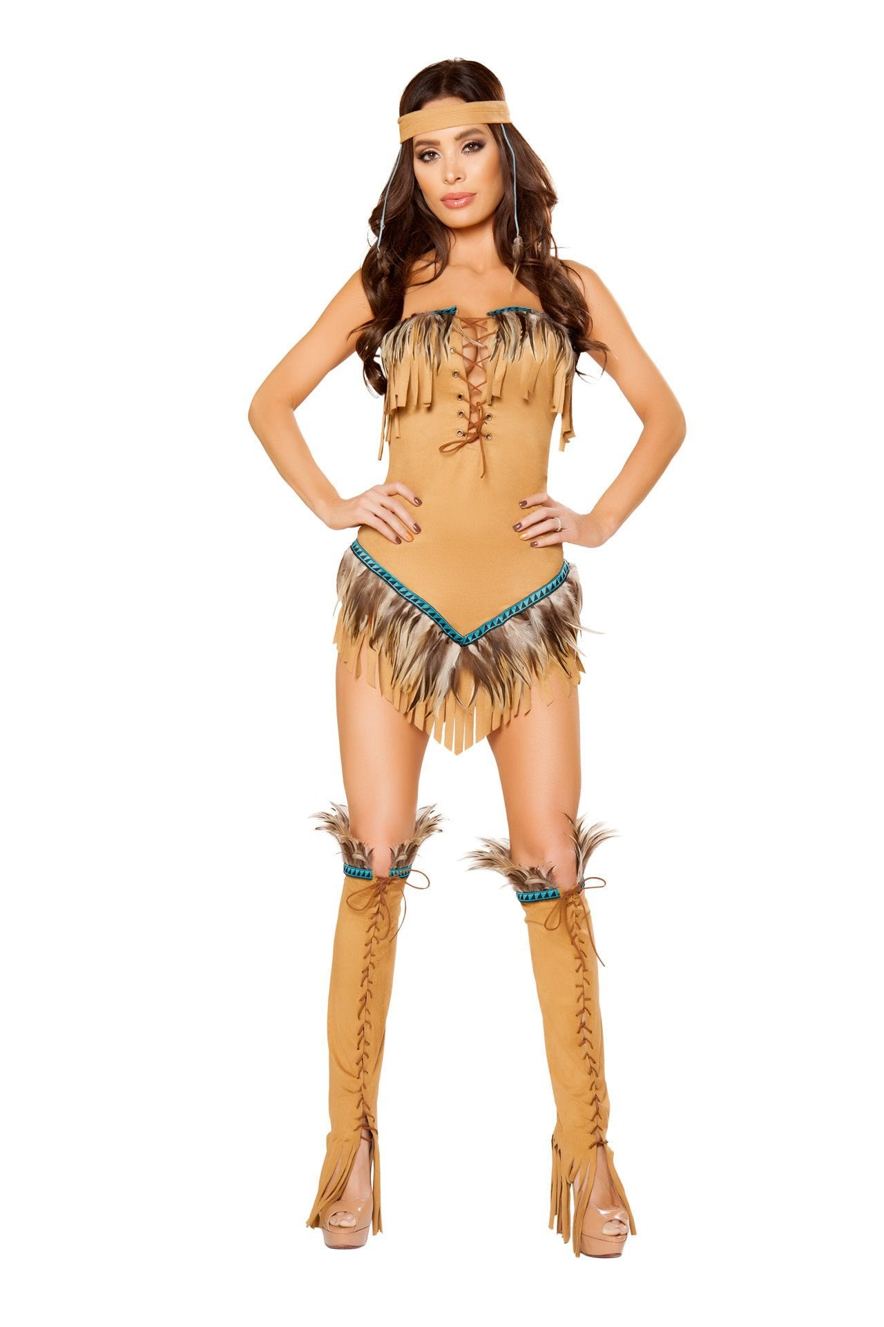 10102 - 2pc Native American Seductress