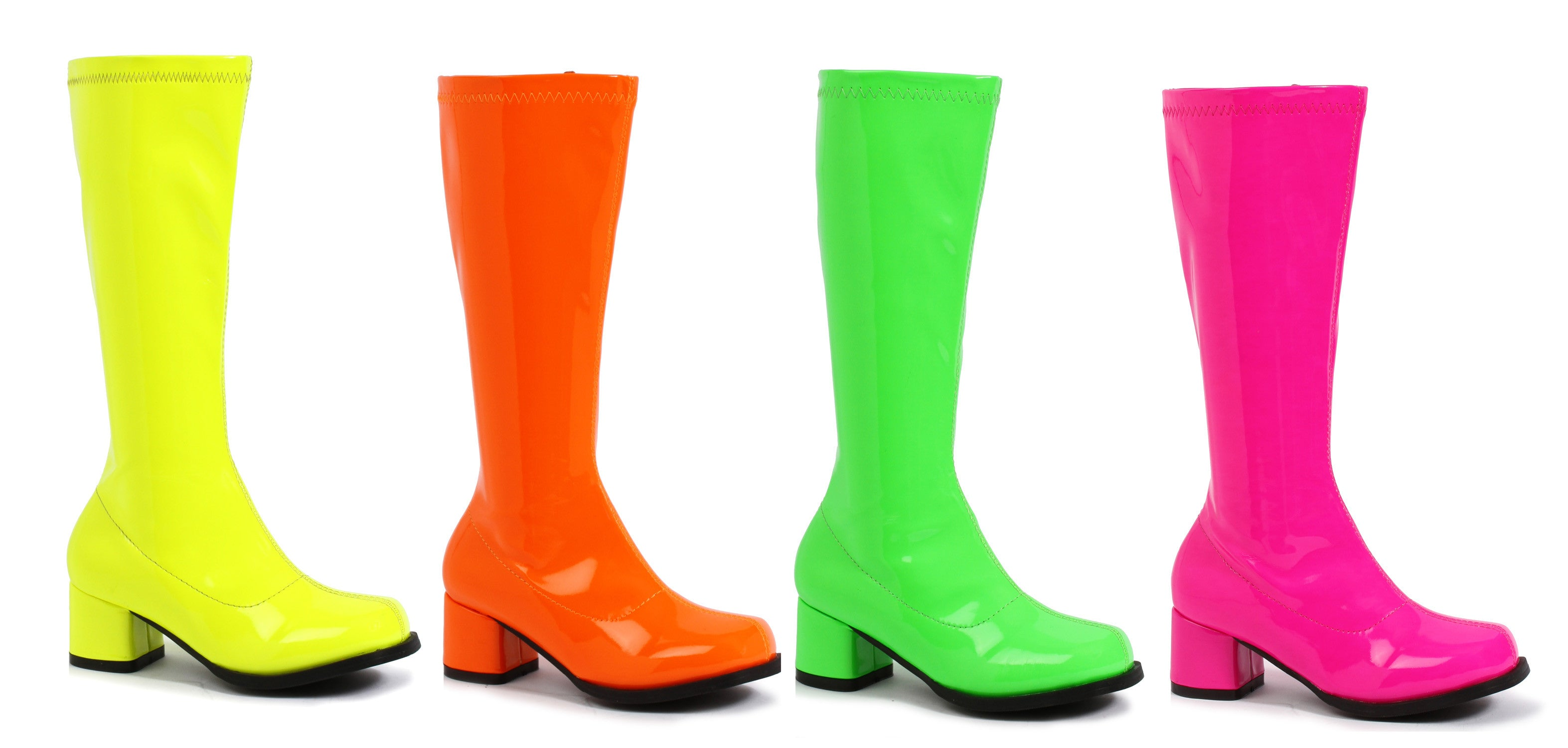 "1.75"" Heel Children's Neon Gogo Boot."