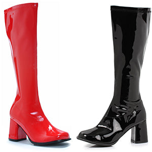 3 Knee High Boot (Blk-Left Red-Right)
