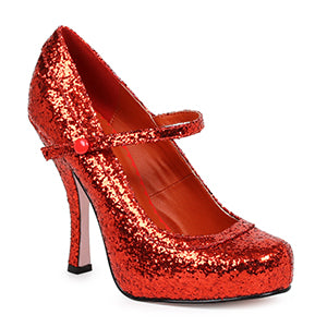 4 Glitter Mary Jane With 1Concealed Platform.