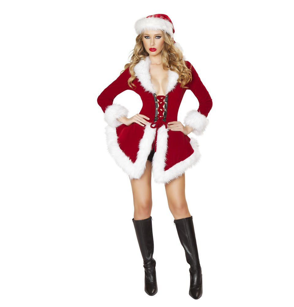 C177 - 2pc Chic Santa - Roma Costume New Products,Christmas - 1