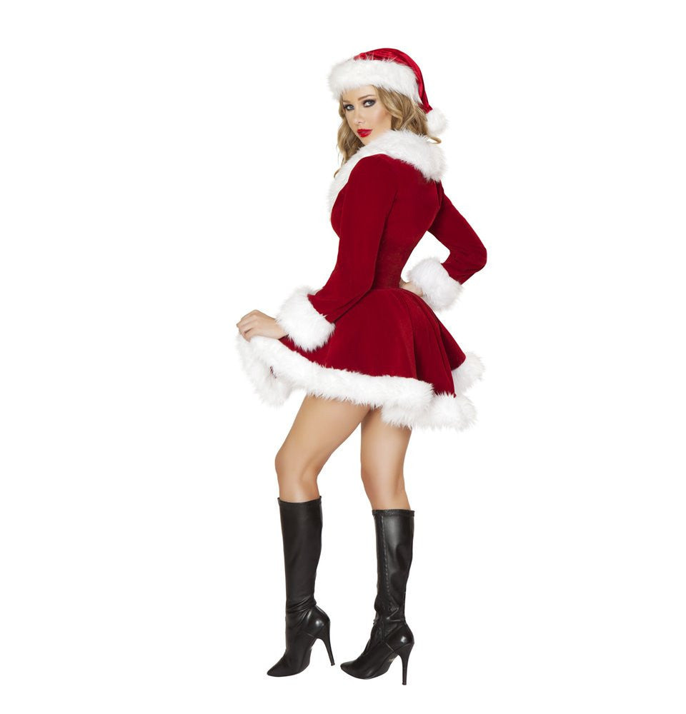 C177 - 2pc Chic Santa - Roma Costume New Products,Christmas - 2