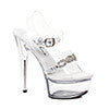 "6"" Heel Sanda With Rhinestones"