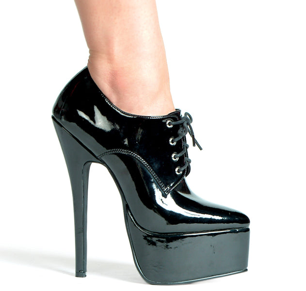 "6.5"" Stiletto Heel Oxford."