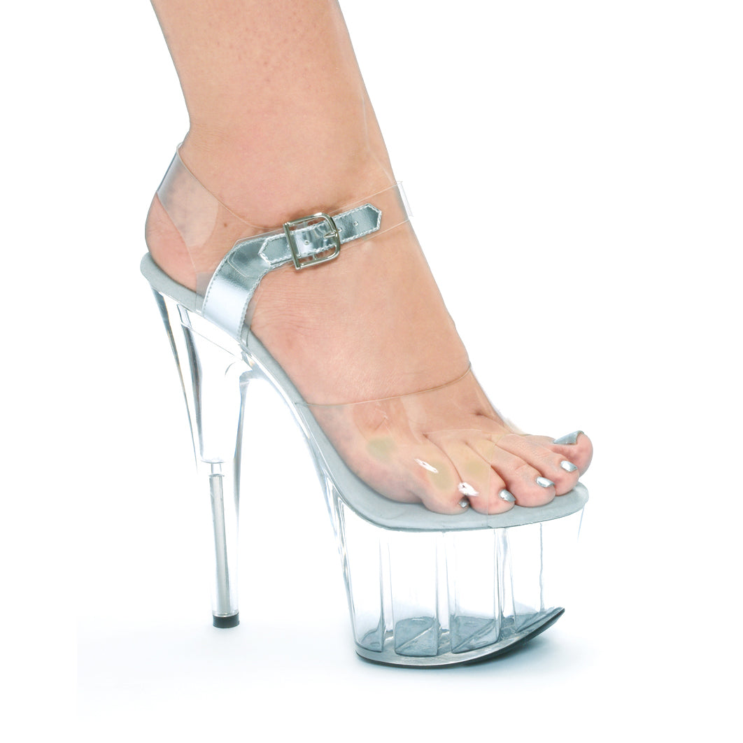 "7"" Pointed Stiletto Sandal."
