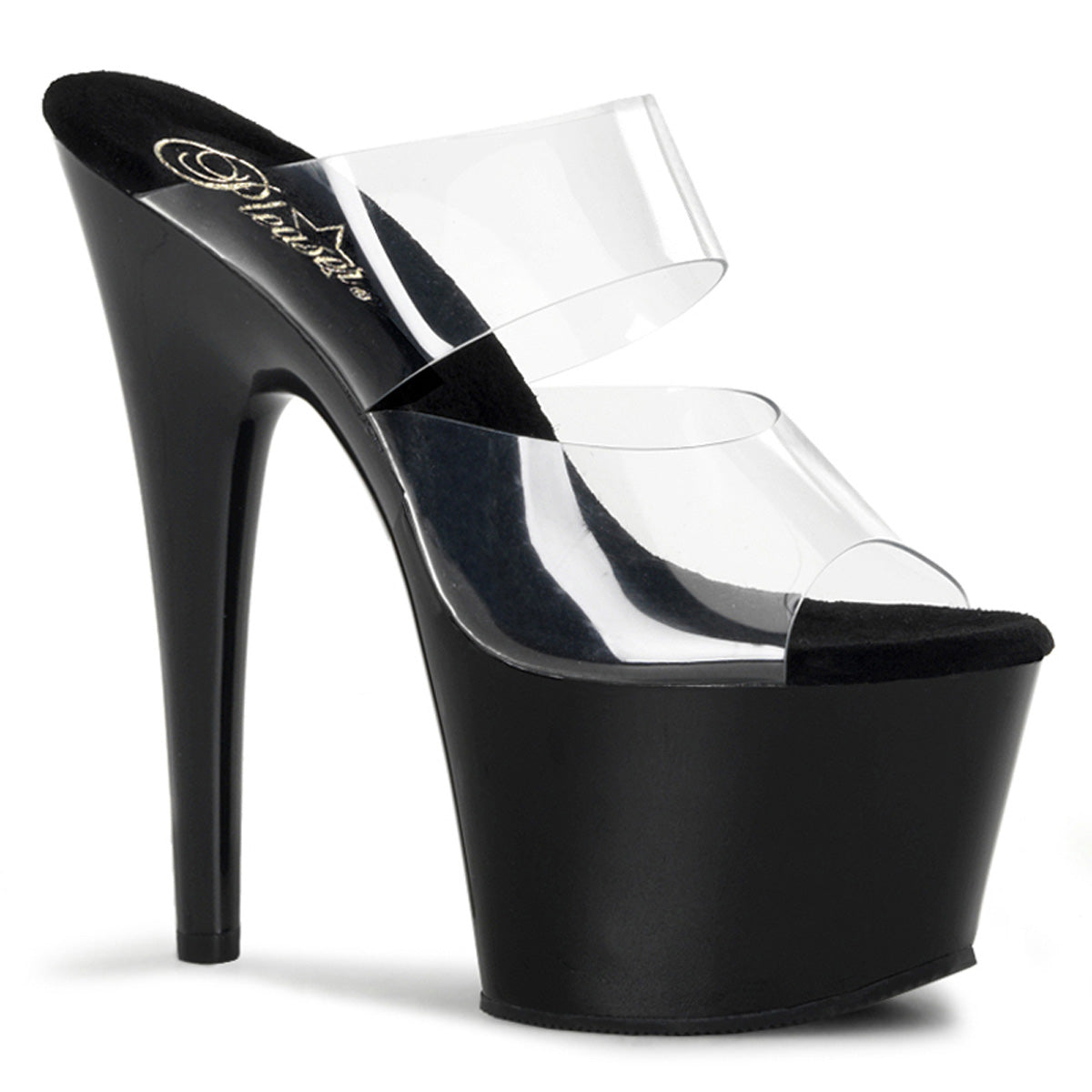 "7"" Stiletto Heel Two-Band PF Slide"