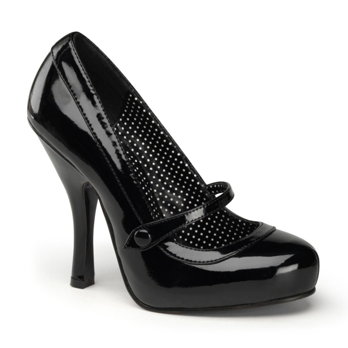 "4 1/2"" Heel, 3/4"" Hidden PF Mary Jane Pump"