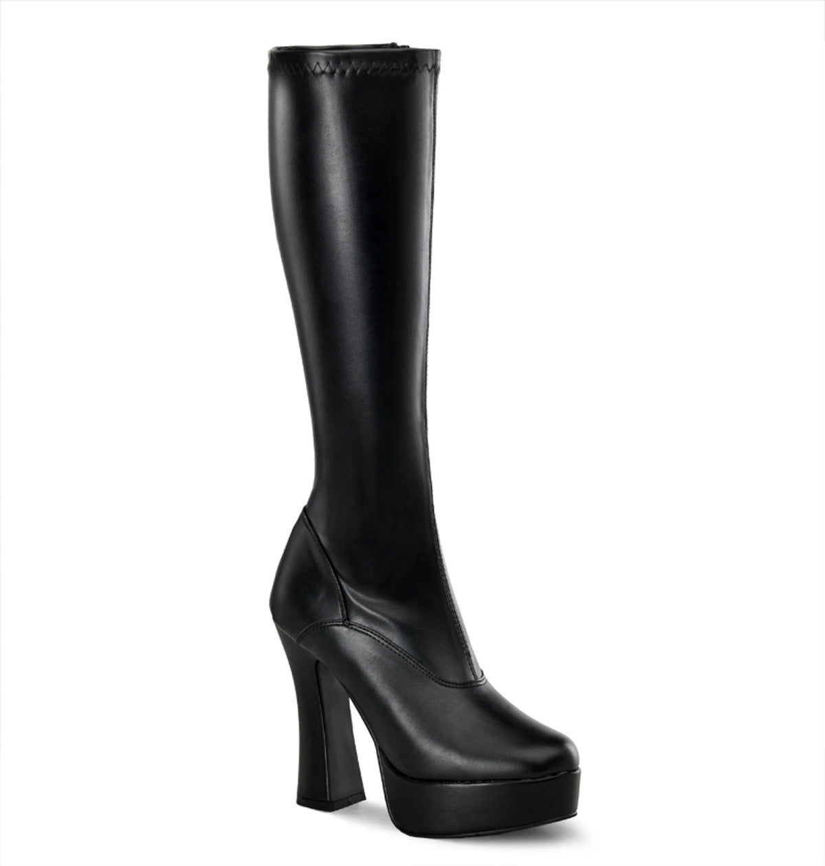 "5"" Stack Heel, 1 1/2"" PF Knee Boot"