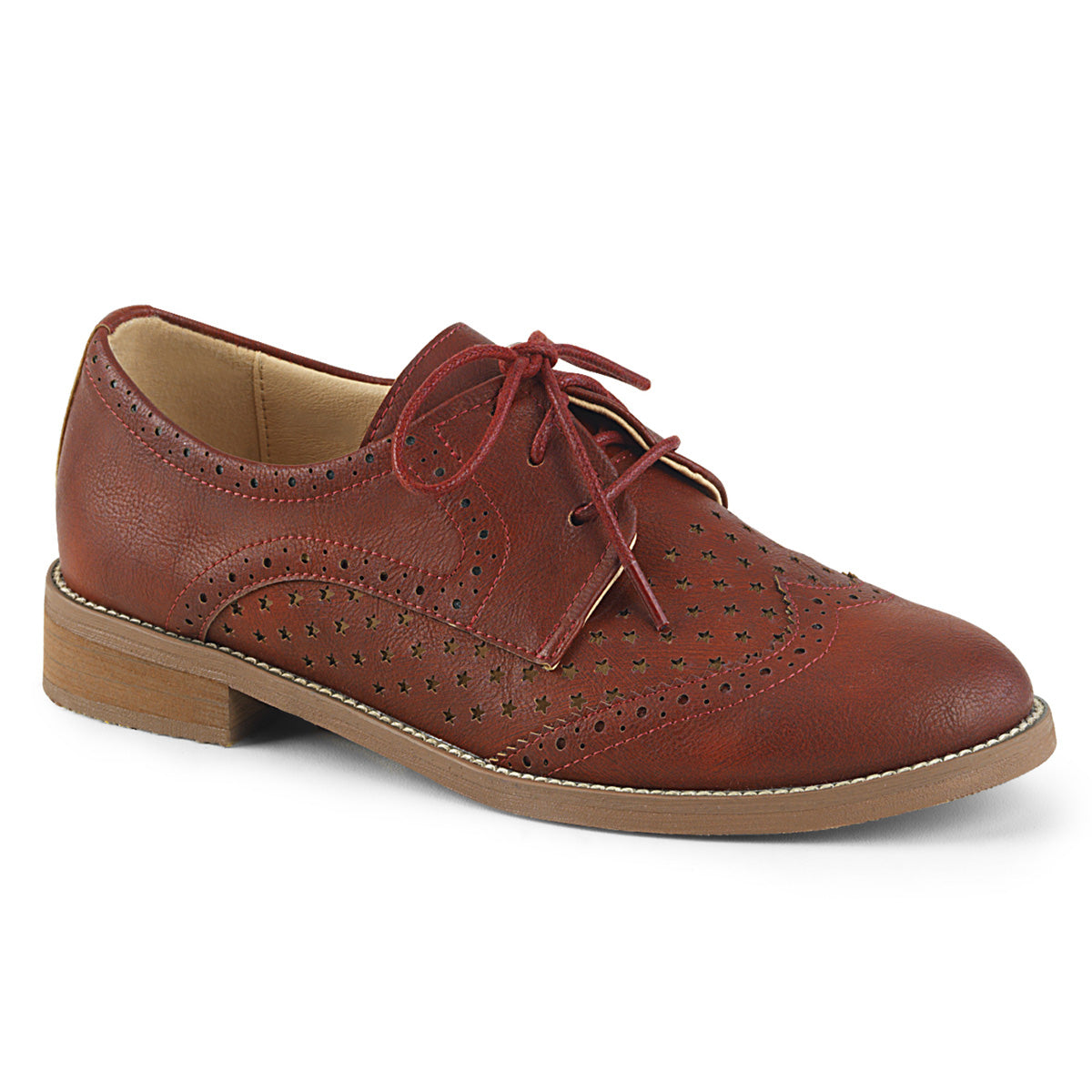 "1"" Heel Wingtip Oxford"