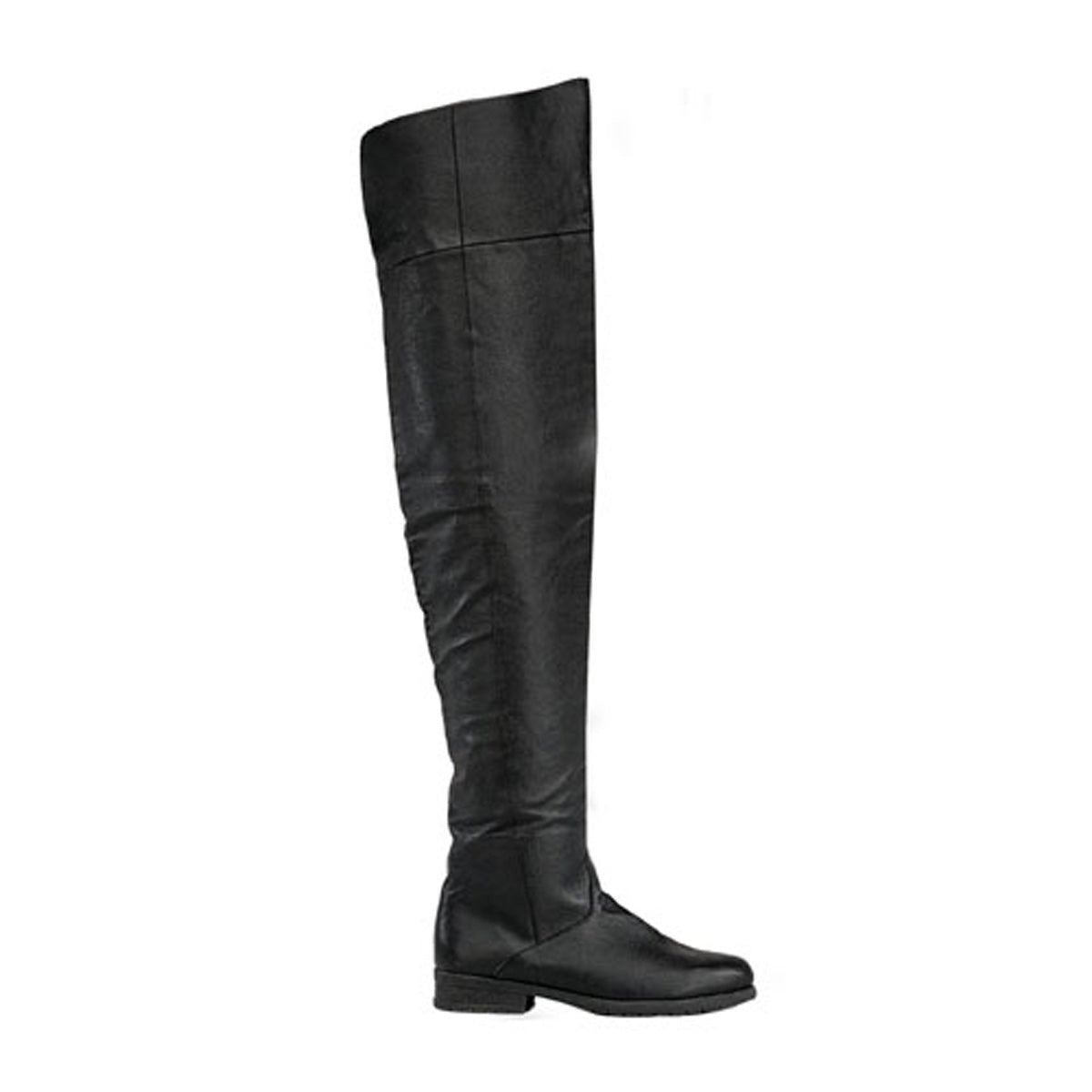 "1 1/2"" Heel, Knee High Pig Leather Boot"