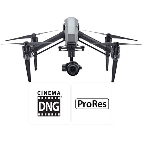 DJI Inspire 2 Advanced Kit with Zenmuse X5S Gimbal & MFT 15mm/1.7 ASPH Lens