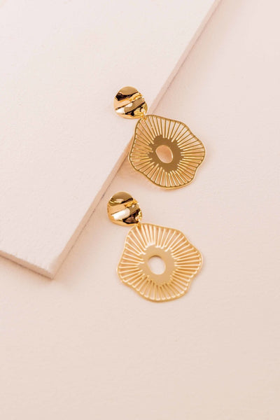 BE BOLD GOLD EARRINGS