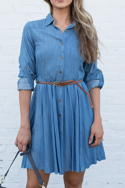 SWAY, GIRL SWAY JEAN DRESS