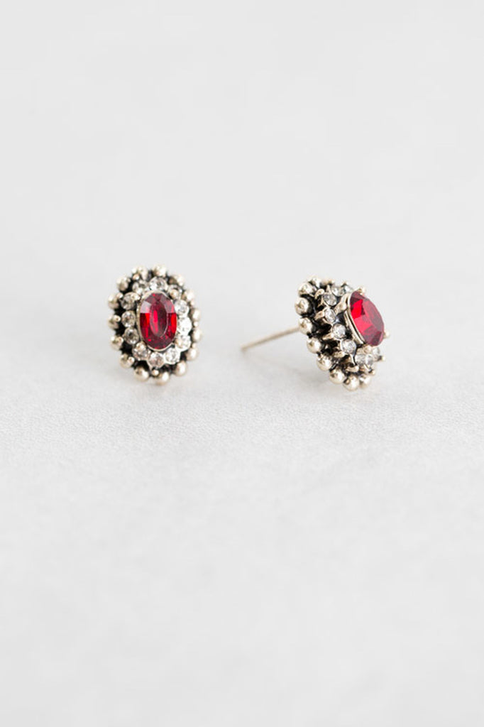 SAHARA RUBY EARRINGS